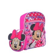 d545c618022 DISNEY MINNIE MOUSE BACKPACK WITH BOW LUNCH BAG