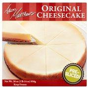 Adam Matthews Original Cheesecake, 30 oz