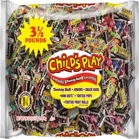Tootsie Child's Play Variety Candies Pack, 3.5