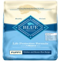 Blue Buffalo BLUE Life Protection Formula All Breeds Puppies Dry Dog Food, Chicken and Brown Rice Recipe, 30-lb