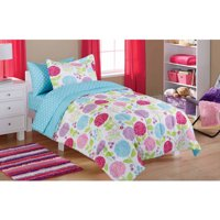 Mainstays Kids In the Garden Bed in a Bag Bedding Set