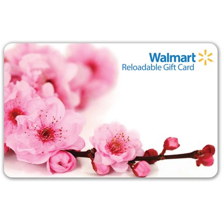 Cherry Blossom Walmart Gift Card - Gift Card Shower