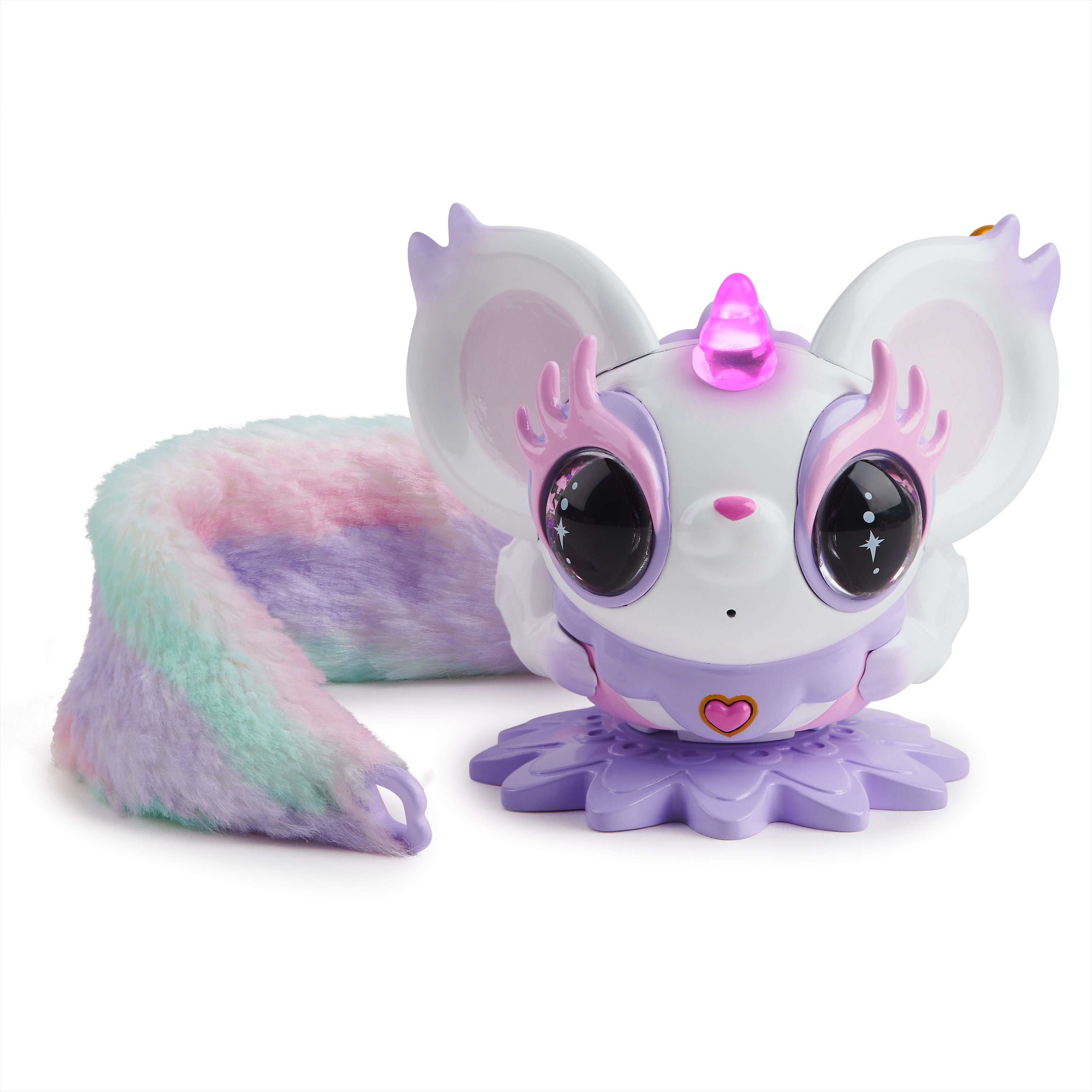 Pixie Belles - Rosie (Pink) - Interactive Electronic Pet with Bonus Tail