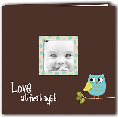 Baby Owl Printed Design Postbound Scrapbook Album (Blue Note Best Albums)