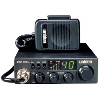 Uniden PRO520XL 40-Channel 4-Watt Compact CB Radio and Tram 300 Magnet-Mount CB Antenna Kit