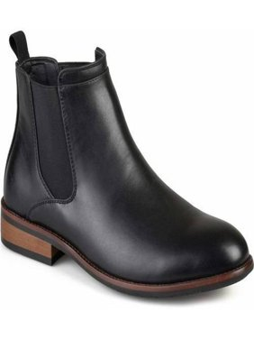 baf453434e70 Product Image Territory Men s Faux Leather High Top Round Toe Medium and  Wide Width Chelsea Dress Boots