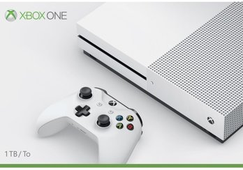 Microsoft Xbox One S 1TB Console, White (Best Xbox 1 Exclusives)