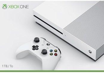 Microsoft Xbox One S 1TB Console, White
