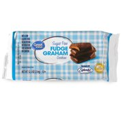 Great Value Sugar-Free Fudge Graham Cookies, 12.5 Oz.