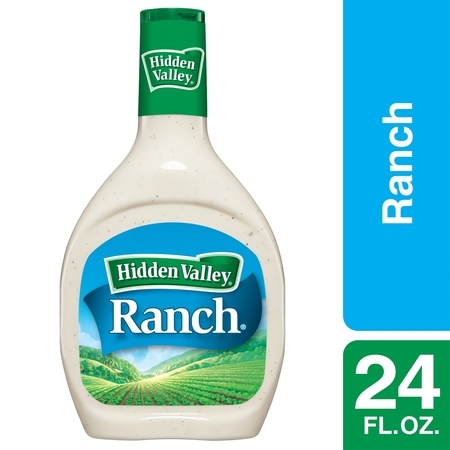 Hidden Valley Original Ranch Salad Dressing & Topping, Gluten Free - 24 oz Bottle - Halloween Cross Dressing