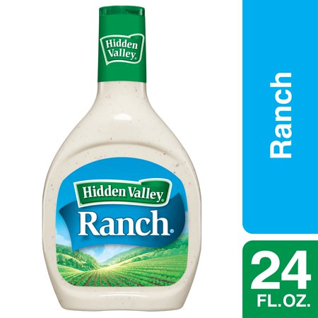 Hidden Valley Original Ranch Salad Dressing & Topping, Gluten Free - 24 oz Bottle
