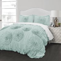 Ruffled Flowers Comforter Set by Better Homes & Gardens
