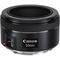 Canon EF 50mm f/1.8 STM Standard Autofocus Lens for EOS T6, T6i,T6S, SL1, 7D, 5D, 6D, .