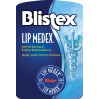 Blistex Lip Medex Lip Care Balm, Lip Protectant and Moisturizer, Cooling Relief, For Chapped Cracked Dry Lips, 0.38oz jar