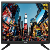 """RCA 24"""" Class FHD (1080P) LED TV with Built-in DVD Player (RTDVD2409)"""