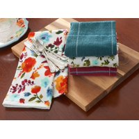 The Pioneer Woman, Willow 4 Pack Kitchen Towel set