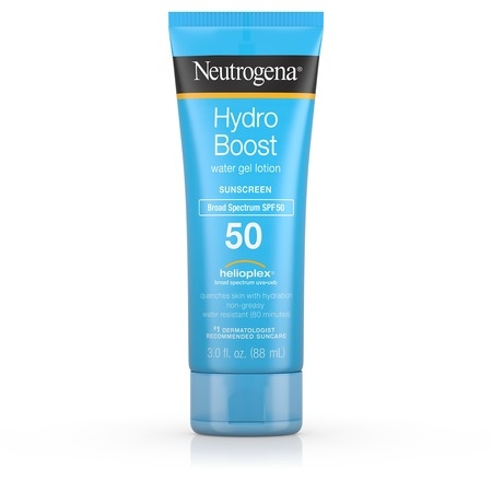 Gel Spf 20 Sunscreen - Neutrogena Hydro Boost Gel Moisturizing Sunscreen Lotion, SPF 50, 3 fl. oz