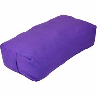 Yoga Direct Supportive Rectangular Cotton Yoga Bolster