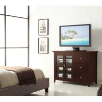 """Convenience Concepts Sierra Highboy TV Stand for TVs up to 50"""""""