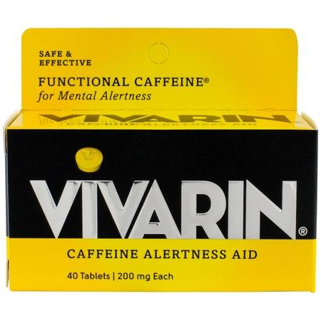 Caffeine 200mg 90 Tabs (Caffeine Alertness Aid, 200mg, 40 ct )