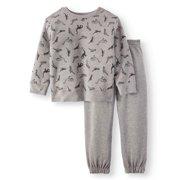 Graphic Sweatshirt & Sweatpants, 2pc Outfit Set (Toddler Boys)