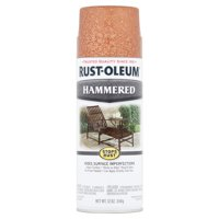 Rust-Oleum Stops Rust Hammered Copper Spray Paint, 12 oz