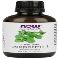 NOW Essential Oils, Peppermint Oil, 2-Ounce