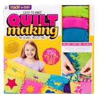 Made By Me Fleece Knotted Quilt Making Kit