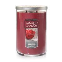 Yankee Candle Large 2-Wick Tumbler Candle, Cranberry Chutney