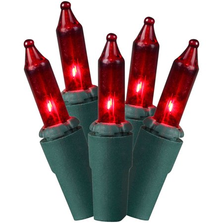 Holiday Time 65.7 Ft. 300 Mini Lights, Red, Indoor or Outdoor Use