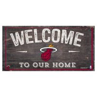 Fan Creations NBA Welcome To Our Home Sign