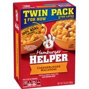 Hamburger Helper Pasta & Cheesy Sauce Mix Cheeseburger Mac 13.6 oz