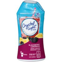 (6 Pack) Crystal Light Liquid Blackberry Lemonade Drink Mix, 1.62 oz Bottle