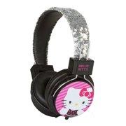 1562f7bfd Sakar Hello Kitty Sequined Headphones, Pink