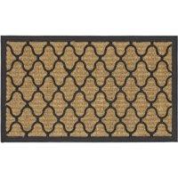Mainstays Fret Rubber Coir Doormat