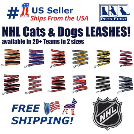 Pets First NHL Toronto Maple Leafs Leash! Licensed, Heavy-duty, Strong, Durable Leash for Dogs, (Maple Coat)