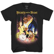 db5cffe899 Beauty and the Beast Belle Disney Adult Mens Tee Graphic T-shirt Apparel  Black
