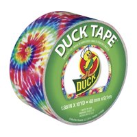 "Duck Brand Love Tie-Dye Duct Tape, 1.88"" x 10 yds"