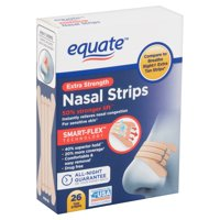 Equate Extra Strength Tan Nasal Strips, 30 count