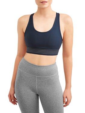 Women's Medium Impact Stripe It Sports Bra