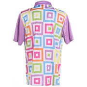 65b0ec8a8 ReadyGOLF Mens Golf Polo Shirt - Hip To Be Square