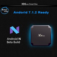Zimtown X96 mini Quad Core S905W Android 7.1.2 4K*2K 2GB+16GB Media TV Box Player