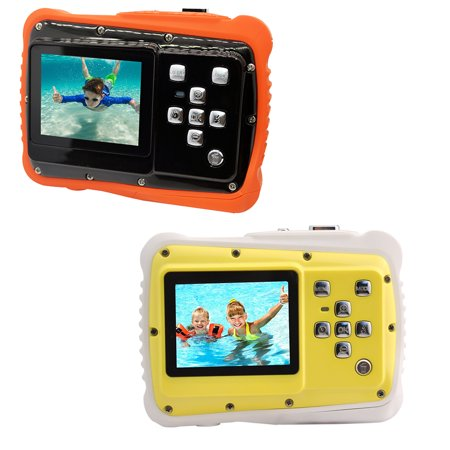 kids Waterproof Camera,12MP Underwater Shockproof Digital Camera & Video Camera with 2.0 Inch LCD Display Up to 10