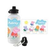 321754d26 Personalized Peppa Pig Hopscotch Friends Water Bottle