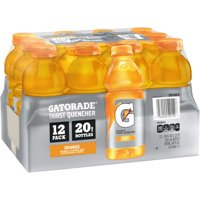 Gatorade Thirst Quencher Orange Sport Drink, 20 Fl. Oz., 12 Count