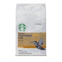 Starbucks Veranda Blend Light Blonde Roast Ground Coffee, 28-ounce bag