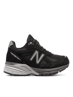 New Balance M990BK4: 990 Made in the USA Black Silver Mens Running Sneaker (12 D(M) US Men, Black Silver)