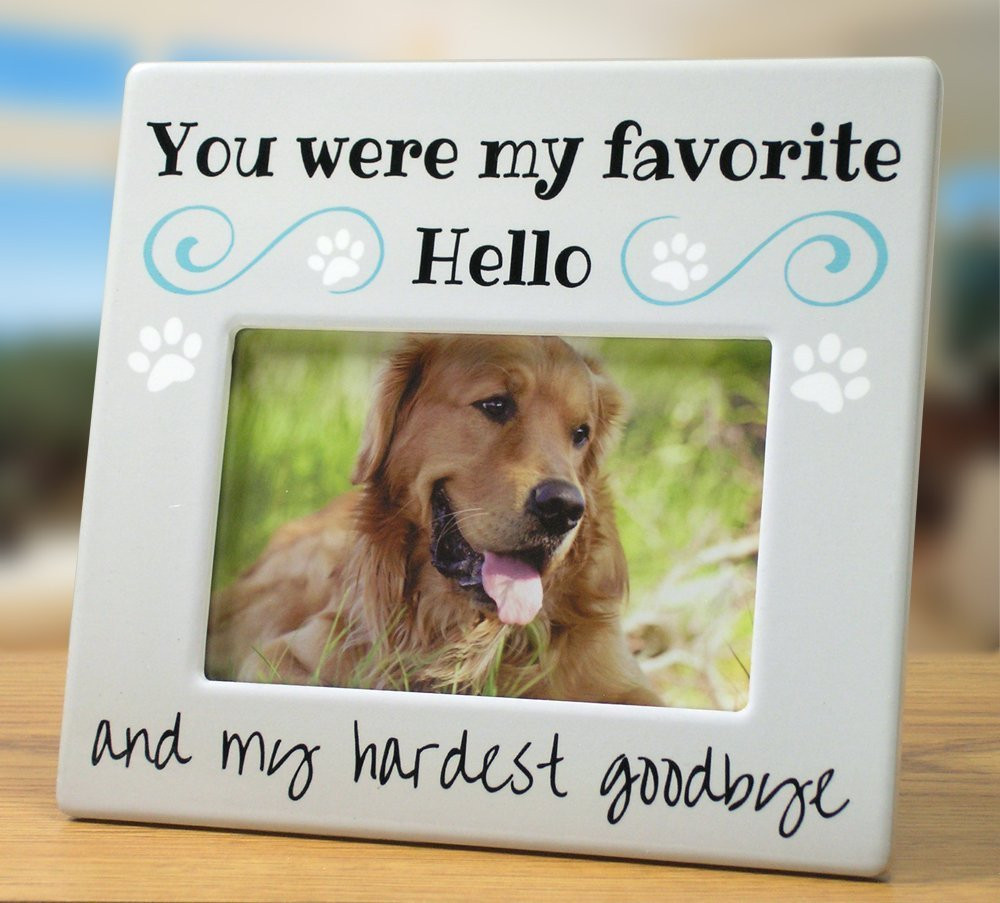 Dog Picture Frames