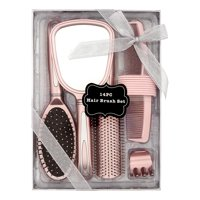 Hair Brush and Mirror Styling Gift Set, 14 pieces ($22 Value)