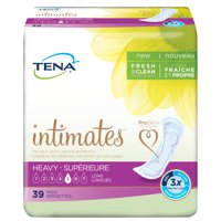 Tena Incontinence Pads for Women, Heavy, Long, 39 Count